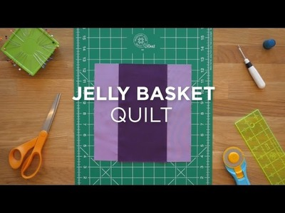 Easy Jelly Basket Quilt Block - Quilt Snips