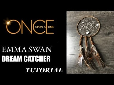 Emma Swan Dream Catcher - Once Upon A Time Tutorial - Dark Swan Costume