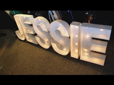 GKYN' Projects - Marquee Letters