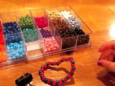 How to make a kandi.pony bead scrunchie
