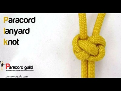 How to tie a lanyard knot