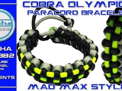 Mad Max paracord bracelet style Cobra Olympic bracelet 2016