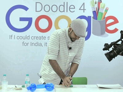 Mad Stuff With Rob - #Doodle4Google 2015 Finale Workshop