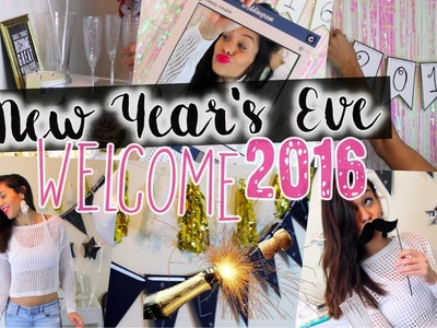 NEW YEAR`S EVE PARTY: Decor, Snacks, Outfits