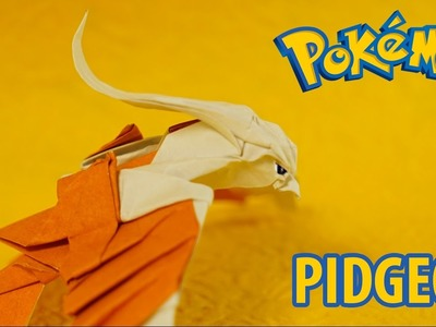 POKEMON - Origami Pidgeot Tutorial - Intermediate Version (Henry Phạm)