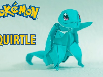 POKEMON - Origami Squirtle Tutorial (Henry Pham)