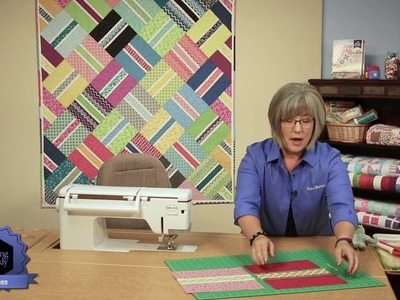 Quilting Quickly - Easy Aberdeen Lap Quilt