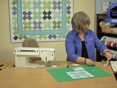Quilting Quickly - Wallflowers Baby Quilt Pattern