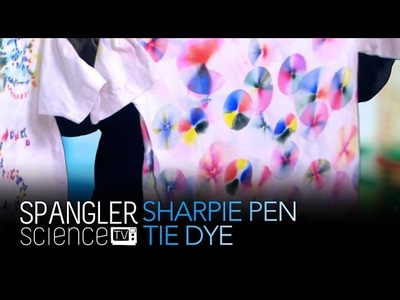 Sharpie Pen Tie Dye - Cool Science Experiment
