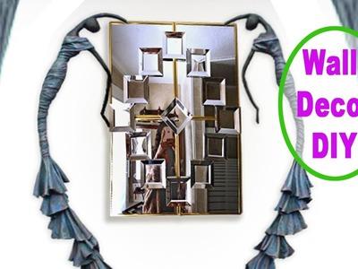✅  SUPER EASY to make Wall Decor DIY Mirror, Using Dollar Tree items.