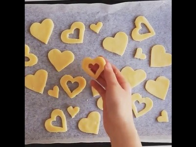 Beautifl & Delicious Heart Shaped Jam Cookies [Tasty]