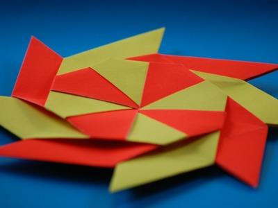 How to Make a Transforming origami Ninja Star