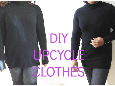 HOW TO UPCYCLE OLD CLOTHES