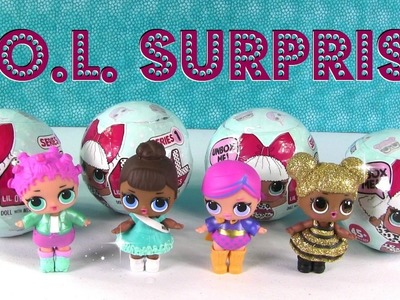 L.O.L  Surprise Baby Doll Cries Color Change Wets Spits Unboxing Toy Review | PSToyReviews