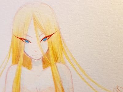 Beautiful Disaster (Elemental Spin-Off Series): Quicksand - Watercolor Speedpaint ♡ iiKiui