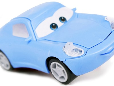 CARS FOR KIDS: Sally Model Kit Zvezda, Car from Disney Pixar Cartoon Cars Toys