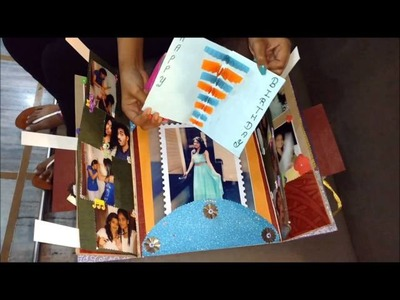 Hand made Card making 1 for best friend  b'day