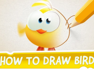 How to Draw Bird from Cut the Rope: Magic