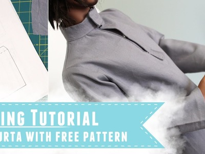 How to make a kurta for Iplehouse SID BJDs, with free pattern