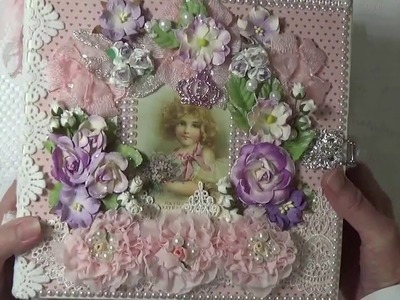 "Pion Designs ""My Precious Daughter"" Mini Album By Cheryl's Paper Creations"