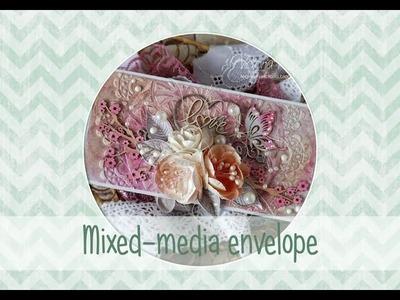 "Tutorial ""Mixed-media envelope"""