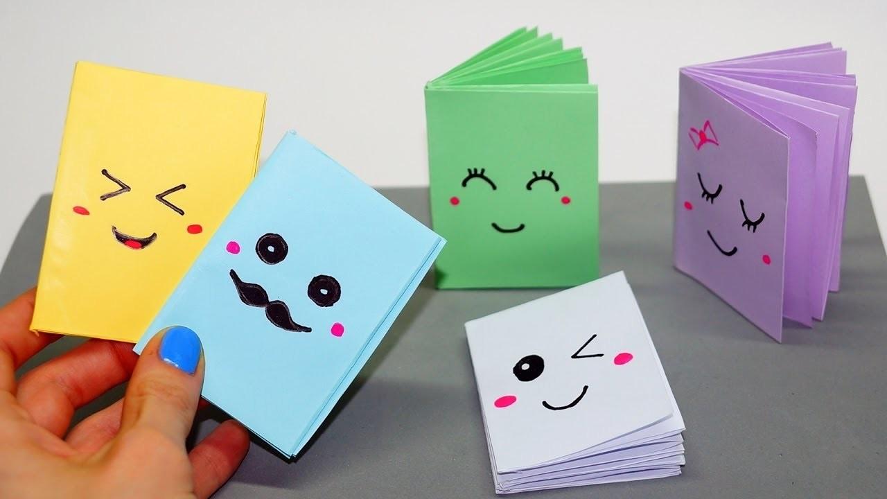 Как сделать из бумаги блакнот