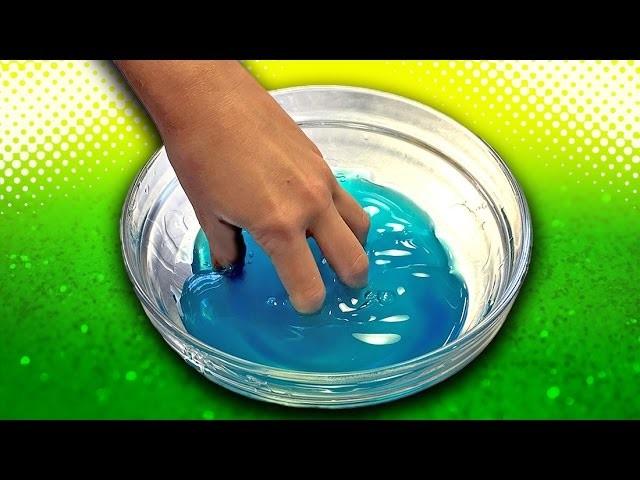 Как сделать лизуна из шампуня и соды и воды