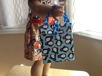 """18"""" Doll Duct Tape Lunch Bag"""