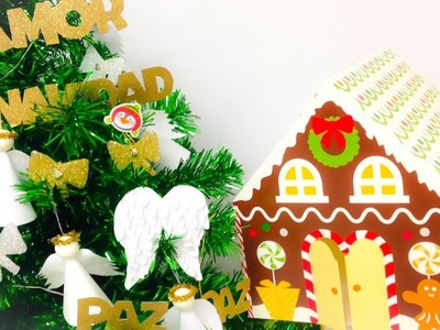 4 EASY AND CHEAP DIY´s Christmas tree decorations you can make right now.