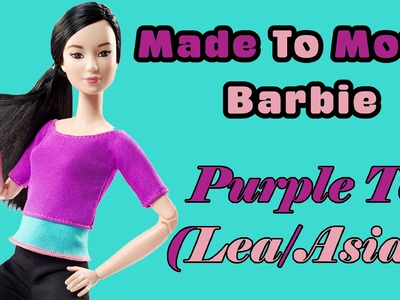 Barbie Made To Move Purple Top Asian Doll Review| Plus BODY SWAPS with other Barbie Dolls