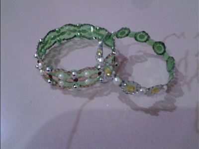 Best Out Of Waste Plastic Bottle Elegant Green Bangles
