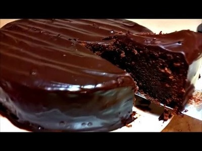 Chocolate Cake Recipe (Chocolate Mud Cake)