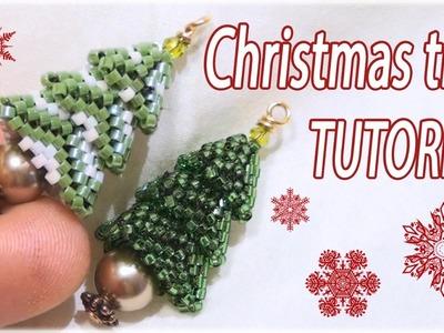 Christmas tree Tutorial - Beaded Christmas tree - DIY Christmas tree - Beading Tutorial