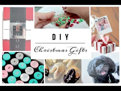 DIY Christmas Gifts - 8 EASY Gift Ideas !
