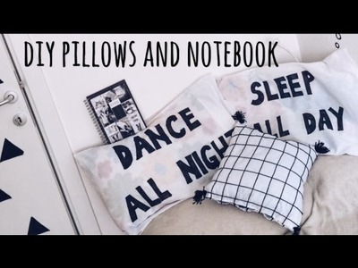 DIY pillows and notebook | Ana Gligorijevic