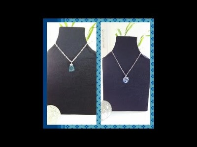 How to make a Necklace Display