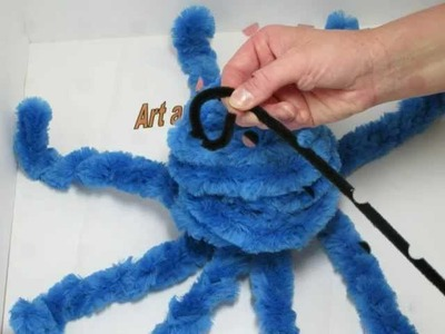 How to make an Octopus with chenille pipe cleaner stems