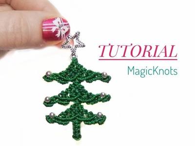 Macrame Xmas Tree ♥DIY♥