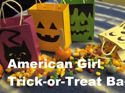 Make Trick-or-Treat Bags For American Girl Doll