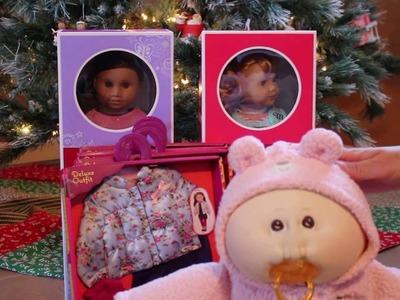 My American Girl Doll Christmas Gifts 2015