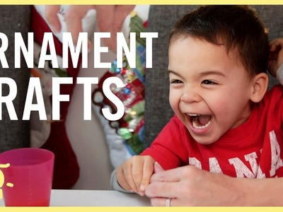 PLAY | 3 ORNAMENT CRAFTS for KIDS!