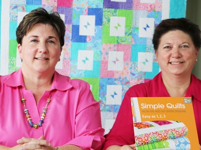 Simple Quilts Easy as 1, 2, 3 Quilt Book by Me & My Sister Designs for That Patchwork Place