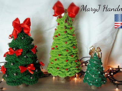 Crochet Christmas Tree | Tutorial in English