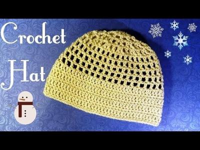 DIY Crochet Lace Hat (Heklana kapa)
