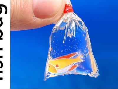 DIY Miniature Fish in a Bag