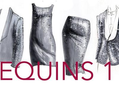 Fashion Illustration Tutorial: Sequins (Part 1.2)