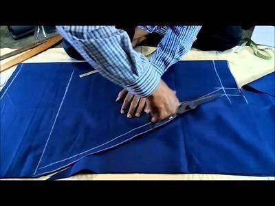 Hip Cut Salwar Cutting Easy Method