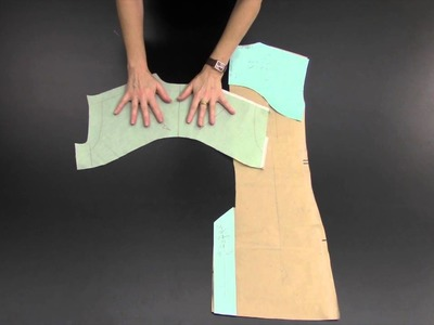 How to Construct: Back Saddle & Vent on a Suit Jacket