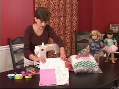 """How to Make a Sleeping Bag for an """"American Girl"""" Doll : Supplies Needed for Doll Sleeping Bag"""