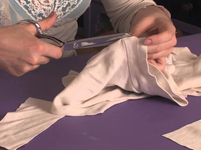 How to Sew on Fabric Under a Sleeve & to the Side of a Shirt to Make the S.  : Shirt Modifications